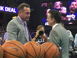 Pitino: Grand Canyon 'toughest crowd I've faced'