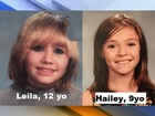 Two young girls missing after leaving sleepover