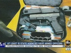 AZ agencies have sworn officers who carry guns