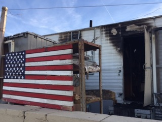 FD: 2 dogs killed in fire at Yuma trailer park