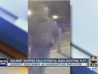 Man helps stop possible shooting at AZ Walmart
