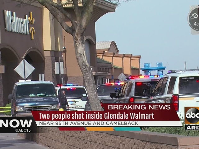 MORE: Police searching for suspects after shooting at Walmart