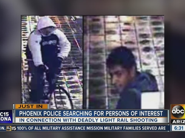 Police looking for 2 men after deadly November light rail shooting