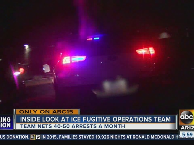 Special Department of Homeland Security team working to remove…