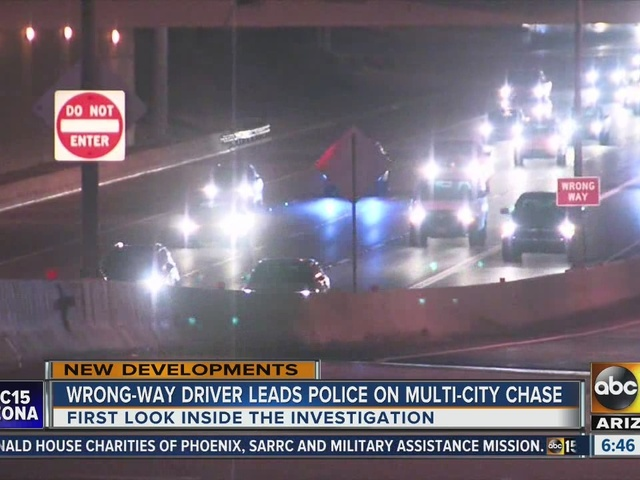 What goes into the investigation of a wrong-way driver after several in…