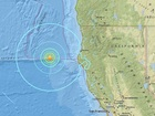 6.5 earthquake west of Ferndale, California