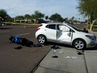 PD: Woman killed in Scottsdale motorcycle crash