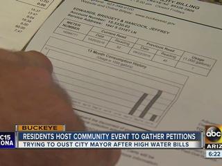 Some Buckeye residents hope to oust city mayor