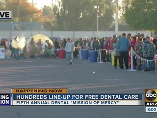 FREE dental care in PHX continues Saturday