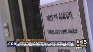 Controversial ADA serial suer files lawsuit against Arizona Attorney General's Office