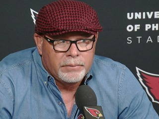 Arians agrees with NFL commissioner on Trump