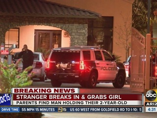 PD: Stranger found in Tempe home holding baby