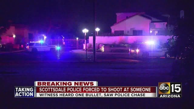 Carjacking leads to officer-involved shooting in Scottsdale