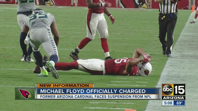 Police release body cam footage of Michael Floyd's DUI arrest