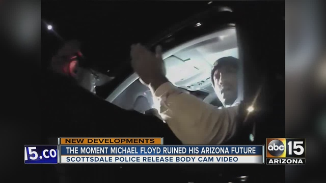 The player was dropped from the Cardinal's roster after his arrest. KNXV