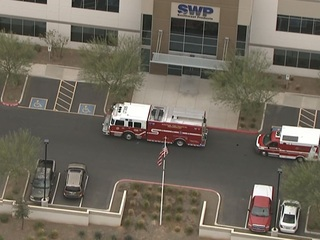 FD: 2 people burned at Surprise facility