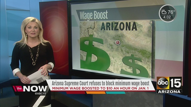 Maricopa County files brief in minimum wage suit