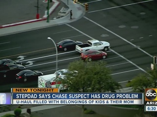 Stepdad speaks out after multi-city car chase