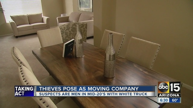 thieves pose as movers wipe out glendale home of furniture