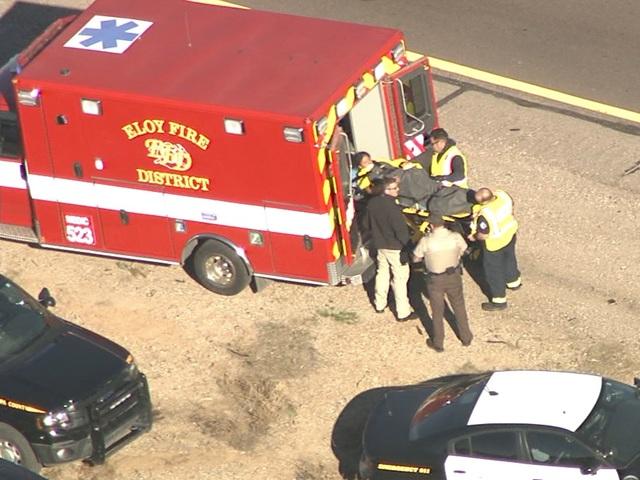 Naked woman steals Arizona deputys pickup truck and leads