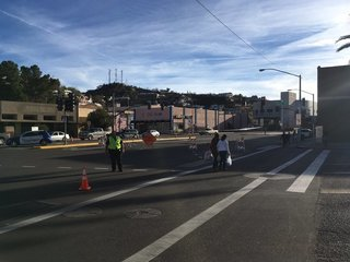 Protesters in Nogales affect border entry point