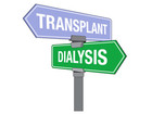 Kidney transplant vs. dialysis