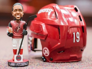 Coyotes annouce Fitzgerald bobblehead night