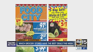 Grocery store deals for week of Jan. 10th