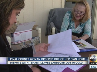 Court orders SE Valley woman off her own land