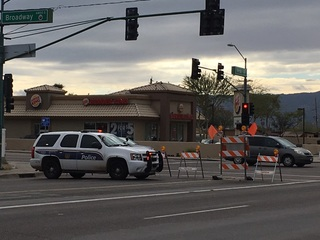 PHX PD: Man struck by vehicle, 1 person detained