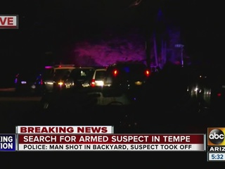 Tempe police searching for suspect in shooting