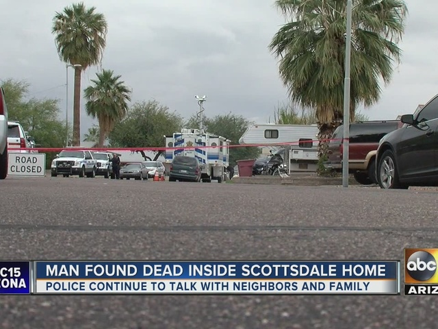 Murder investigation continues at Scottsdale home