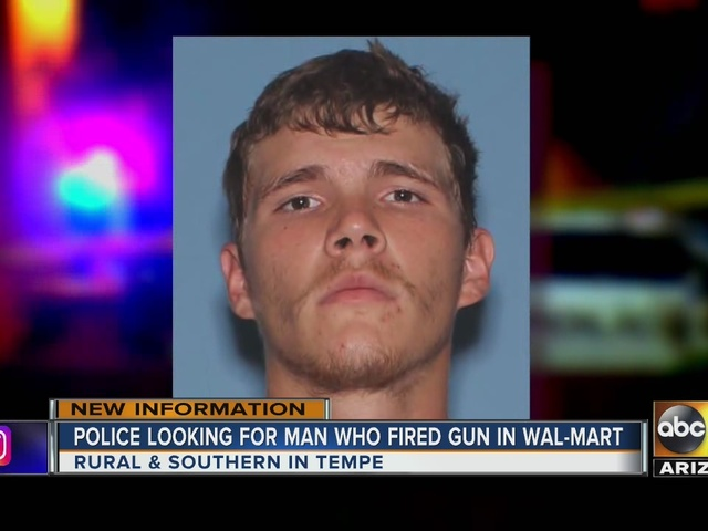 Police searching for alleged gunman in Tempe