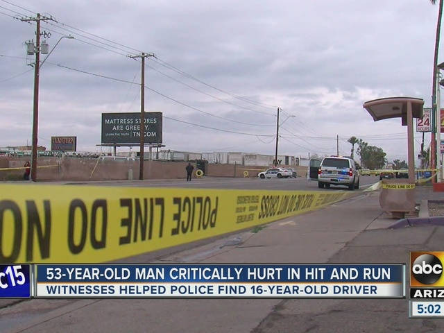 Teen accused in Phoenix hit-and-run accident