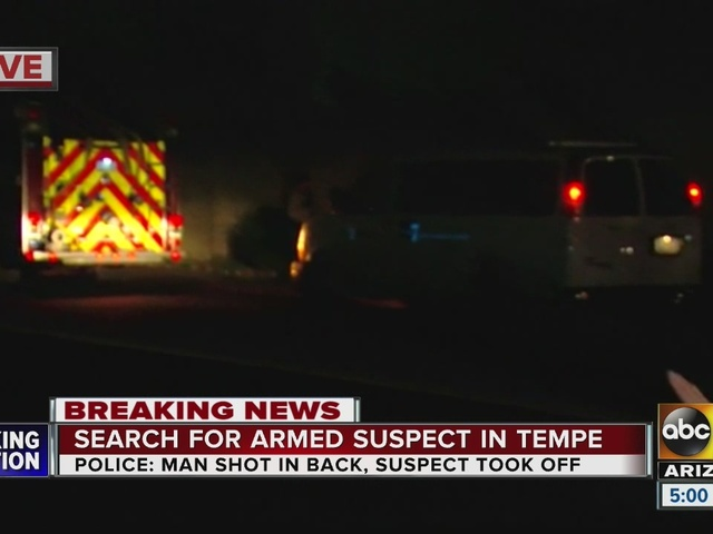 Tempe police looking for armed suspect