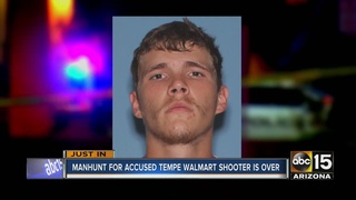 Man arrested for firing shots in Tempe Walmart