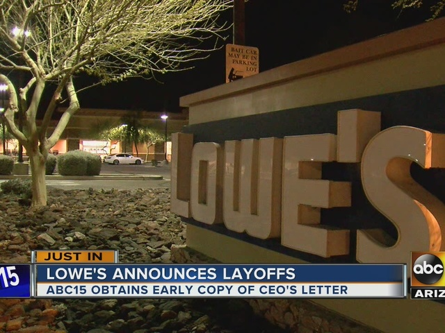 Lowe's notifies employees of restructuring impacting about 2,400 workers