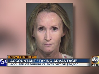 Mesa woman accused of stealing $50K from clients