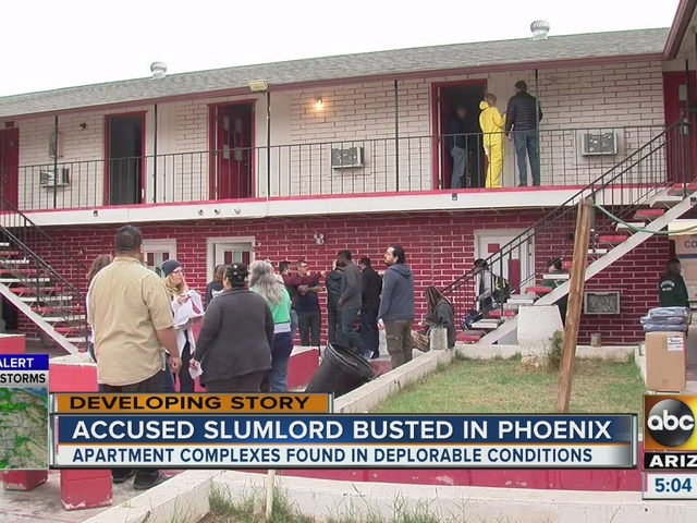 Accused slumlord busted in Phoenix after restidents found in deplorable…