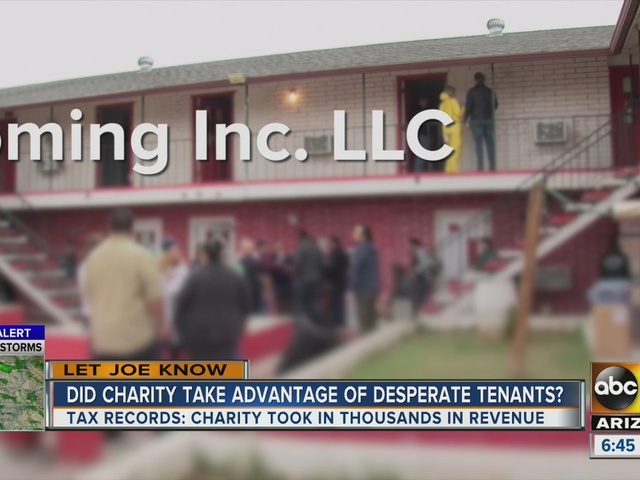 Let Joe Know: Did a charity take advantage of renters?