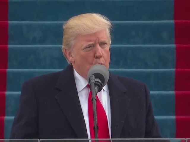 Opening remarks of President Trump's speech