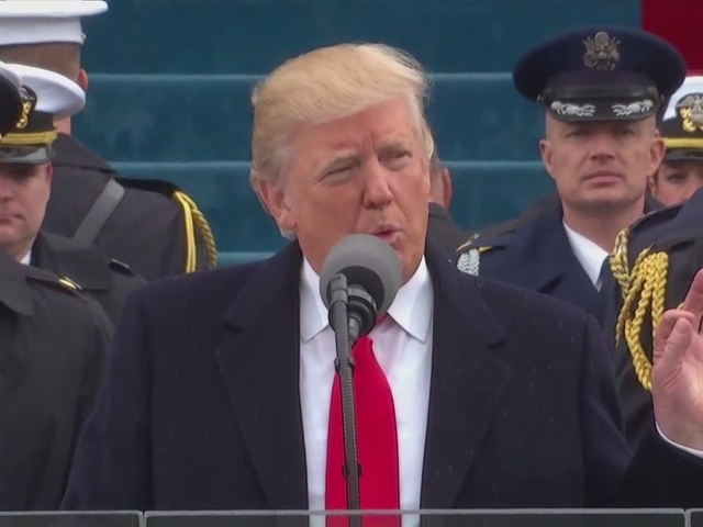 President Trump says today is a historical day
