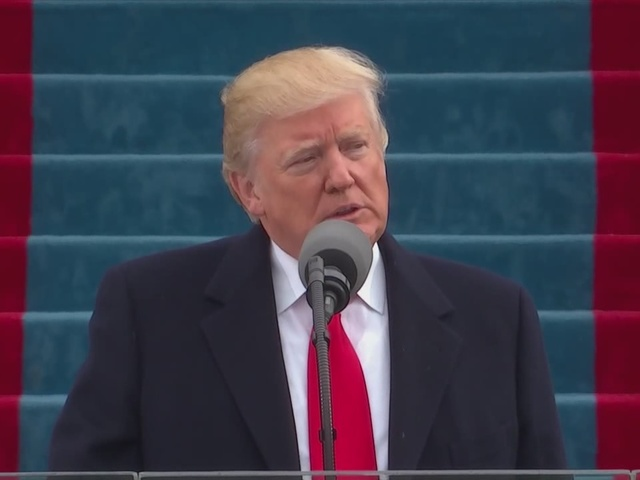 President Trump thanks former President's and the people