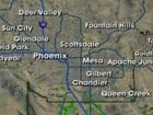 RADAR: Rain, snow moving through Arizona