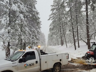 More than 1,000 without power after winter storm