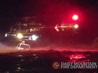 MCSO: Chopper rescues one trapped by flooding