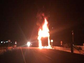 ADOT: SR 87 reopens after truck fire