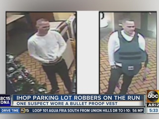 PD: Armed robbers target couple at Phoenix IHOP