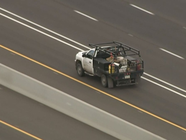 DPS, PD chase stolen truck from US 60 to I-17