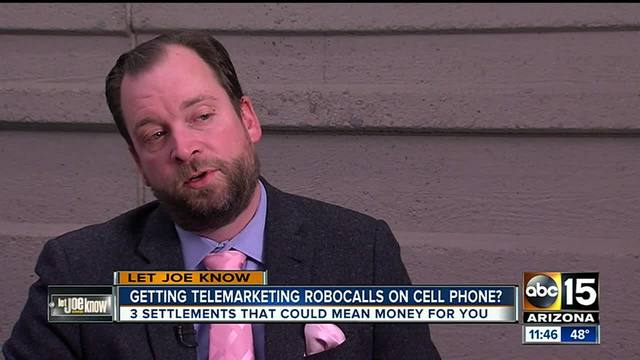 If you receive cell phone robocalls, you could be entitled to cash